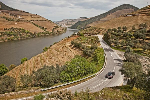 Best self-drive roads in Europe - N-222 from Peso de Régua to Pinhão in northern Portugal