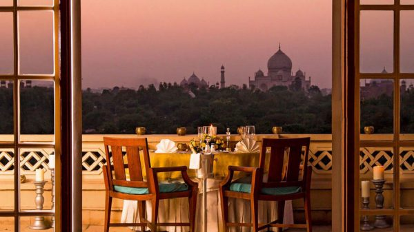 most scenic restaurant in Agra