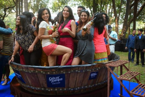 self drive trip to winery, bengaluru - barefoot grape stomping wine tour
