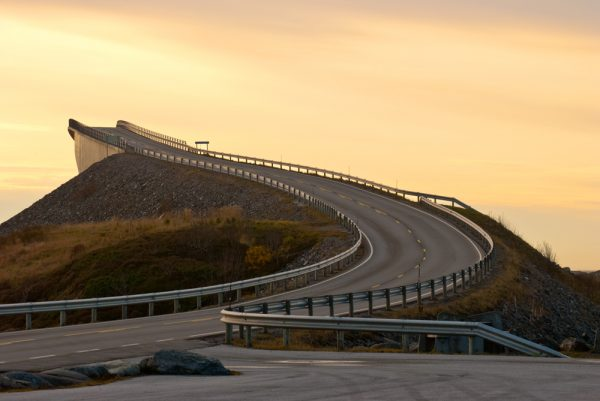 Best self-drive roads in Europe -Atlantic Ocean Road Norway