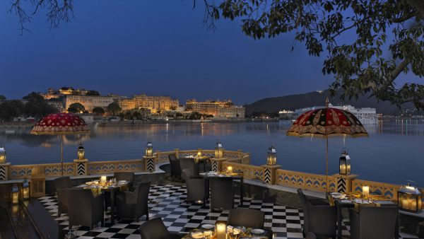 most scenic restaurant in Udaipur