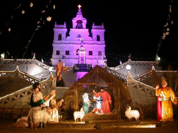 best 6 places in India to celebrate Christmas - Goa