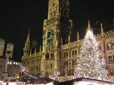 Celebrating Christmas in Nuremberg, Germany