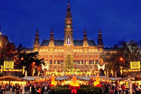 Celebrating Christmas in Vienna, Austria