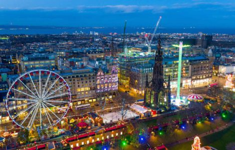 Celebrating Christmas in Edinburgh, Scotland