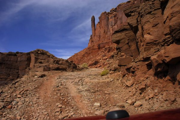 Hardscrabble Hill, along the White Rim Trail