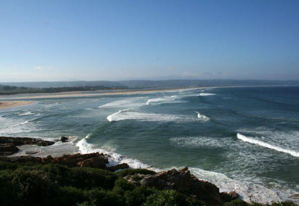 Dramatic rocky peninsula
