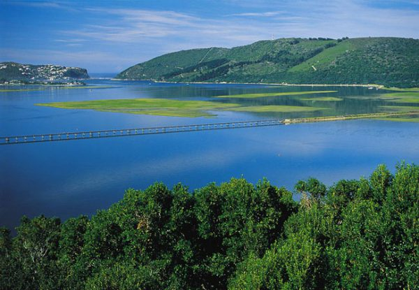 The Garden Route, South Africa: Spectacular views of the lagoon