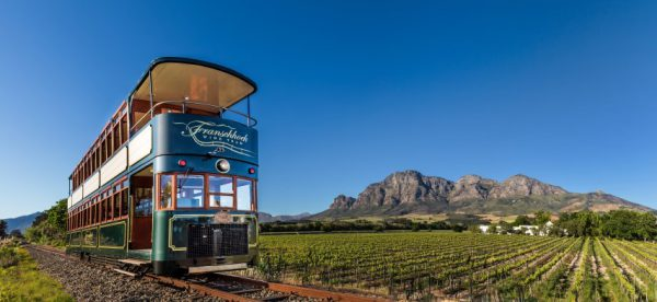 Garden Route, South Africa Double Decker Tram: Cape WineLands