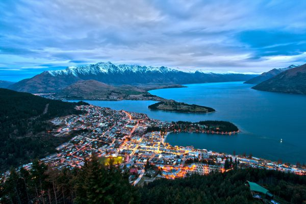 New Zealand Road trip in Queenstown