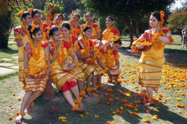 Shantiniketan, West Bengal Cultural Holi