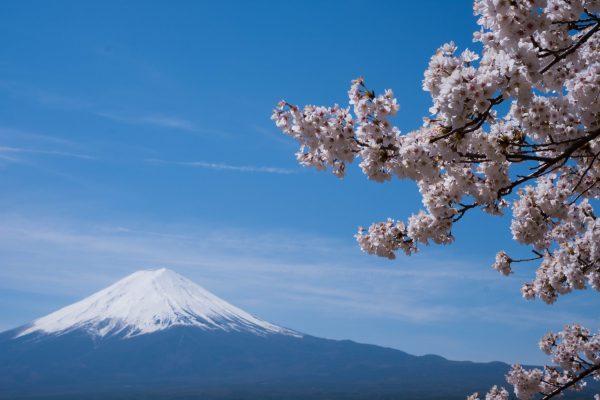 Mt. Fuji from Tokyo Lake Kawaguchi