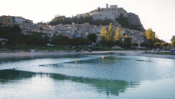 Sisteron famous place in France