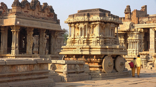 Places to visit during winters Hampi From Hyderabad