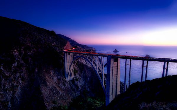 Big Sur, California best road trips in the world