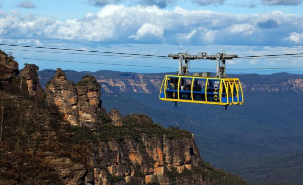 Katoomba Blue Mountains from Sydney