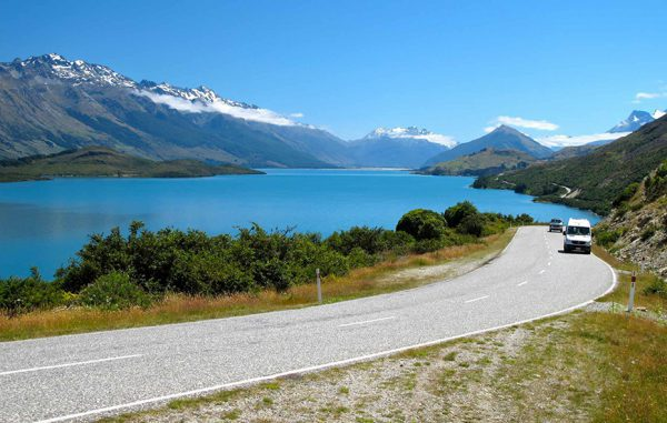 Queenstown to Glenorchy best Road trips in the world