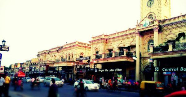 Delhi to Lucknow harzratganj market