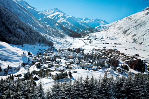 Road trip in Switzerland Andermatt