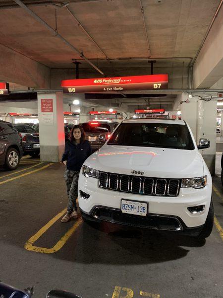 hire a car in canada