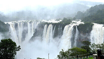 Book a Cab from Bangalore and Visit Jog Falls