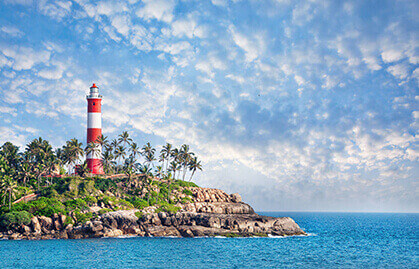 Book a Cab from Kochi and Visit Kovalam