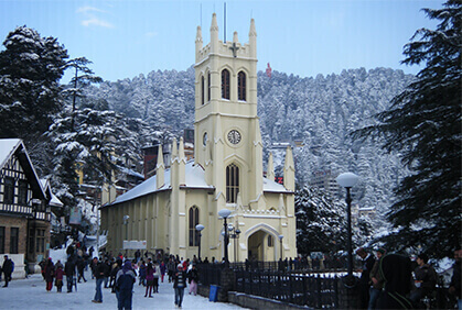 Rent a Car from Gurugram and Visit Shimla