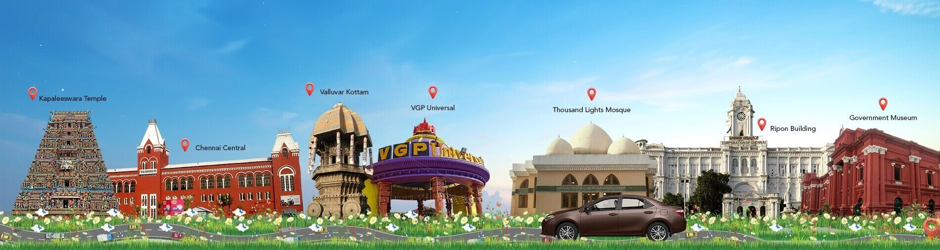 Car Rental in Chennai