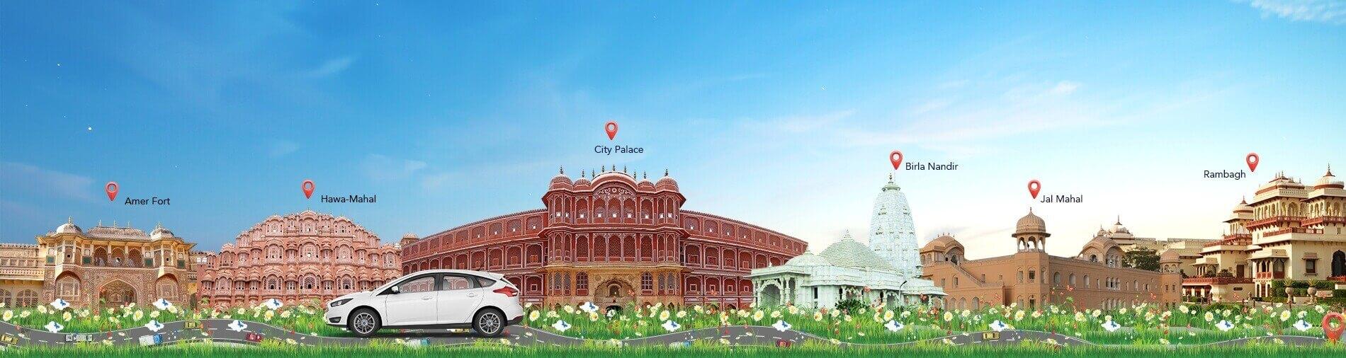 Image result for jaipur car rental